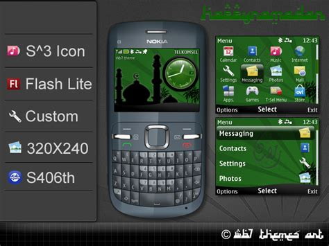 themes nokia asha happy ramadan theme asha 302 available free nokia series