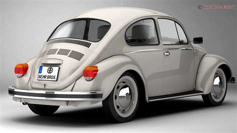 Volkswagen Beetle 2003 by Volkswagen Beetle 2003 Ultima Edicion 3d Model Max Obj 3ds