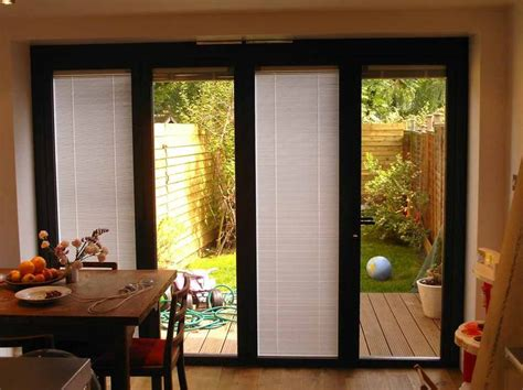 ideas for dressing patio doors sliding patio doors with blinds design interiors