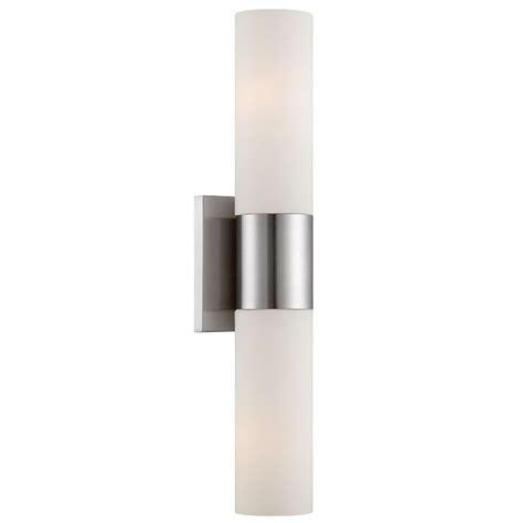 Modern Sconces Lighting garner 2 light modern wall sconce eurway furniture