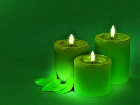 imagenes velas verdes la magia de las velas velones y veladoras poderosos