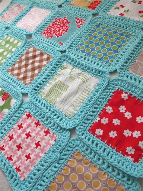 Crocheted Quilts by Bee In Bonnet Fusion Blanket Crochet Along