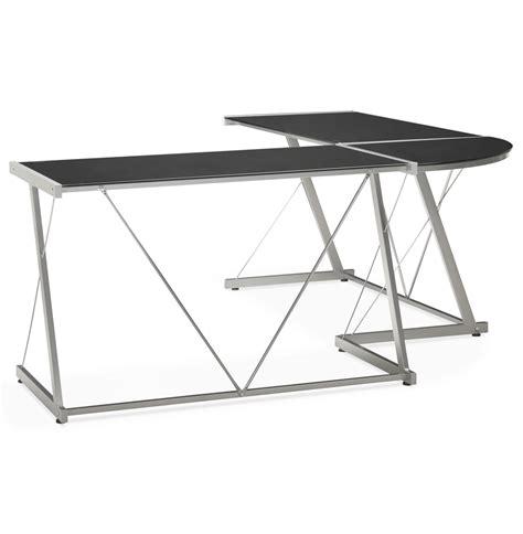 grand bureau d angle grand bureau d angle bureau design en verre noir