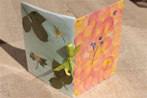 como hacer un album fotos para el jardin diy c 243 mo hacer una libreta con flores y hojas secas youtube