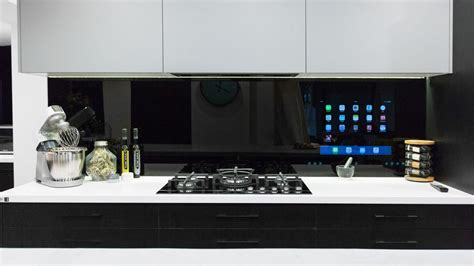 Kitchen Screen by The Blocktagon Touchscreen Splashback Kitchen Reveals