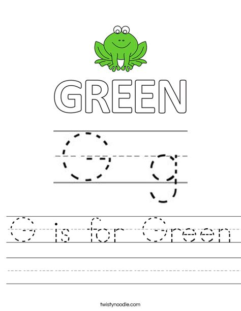 preschool coloring pages color green green gs coloring pages for preschool green best free