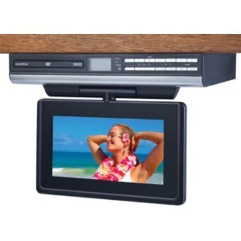 under cabinet radio tv kitchen best under cabinet tvs for kitchen tv dvd combo or tv