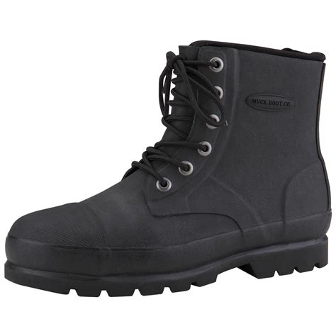 black steel toe boots for s muck boots foundation waterproof steel toe work