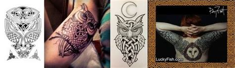 celtic owl tattoos ideas tattoos designs ideas