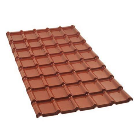 plast plaques de couverture pvc aspect tuiles