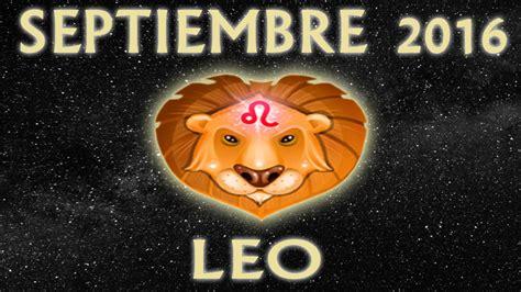 horoscopo 2016 asi le ira a cancer leo y virgo el ano que hor 243 scopo leo septiembre 2016