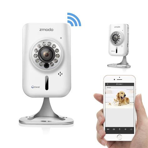 zmodo 720p hd wireless wifi network ip home indoor