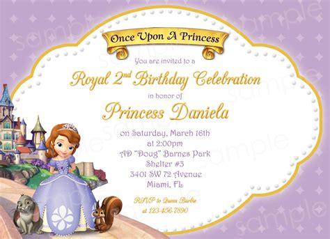 princess sofia template printable sofia the princess birthday by modpoddesigns