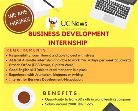 alibaba uc news business development intern studentjob indonesia