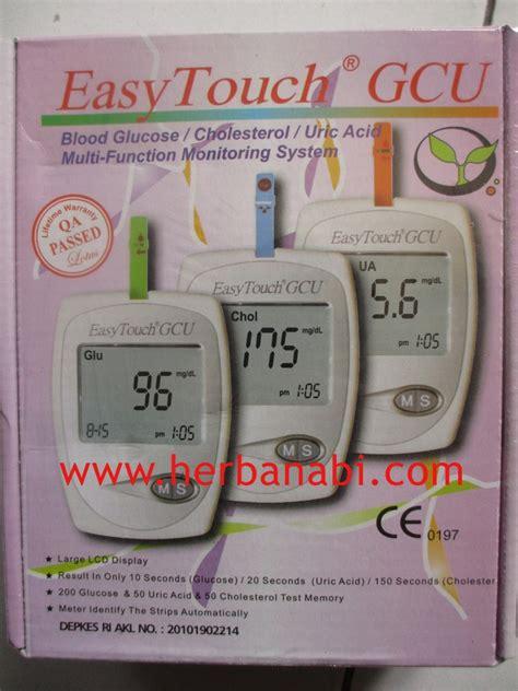 Alat Tes Gula Darah Easy Touch alat tes gula darah alat tes kolesterol tes asam urat