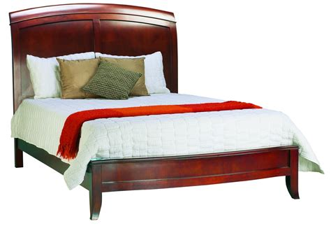 full sleigh bed full size sleigh bed in cinnamon brighton collection modus