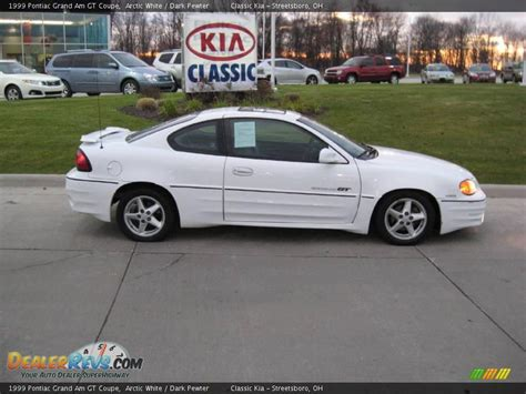 1999 pontiac grand am gt coupe 1999 pontiac grand am gt coupe arctic white pewter