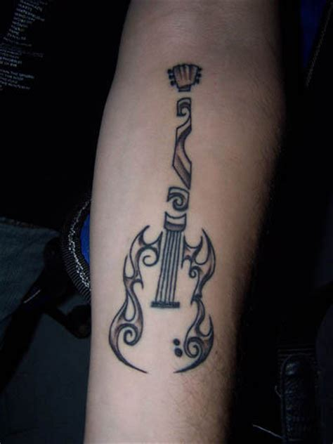 guitar music tattoo designs guitar tattoos