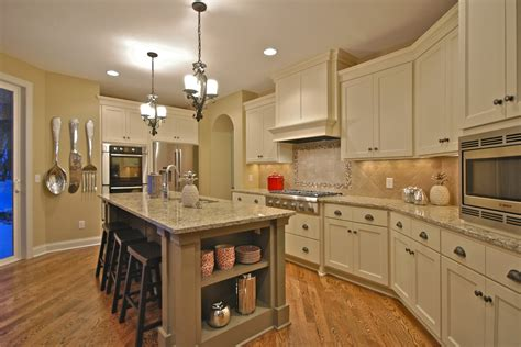 kitchens with antique white cabinets antique white cabinets kitchen traditional with door