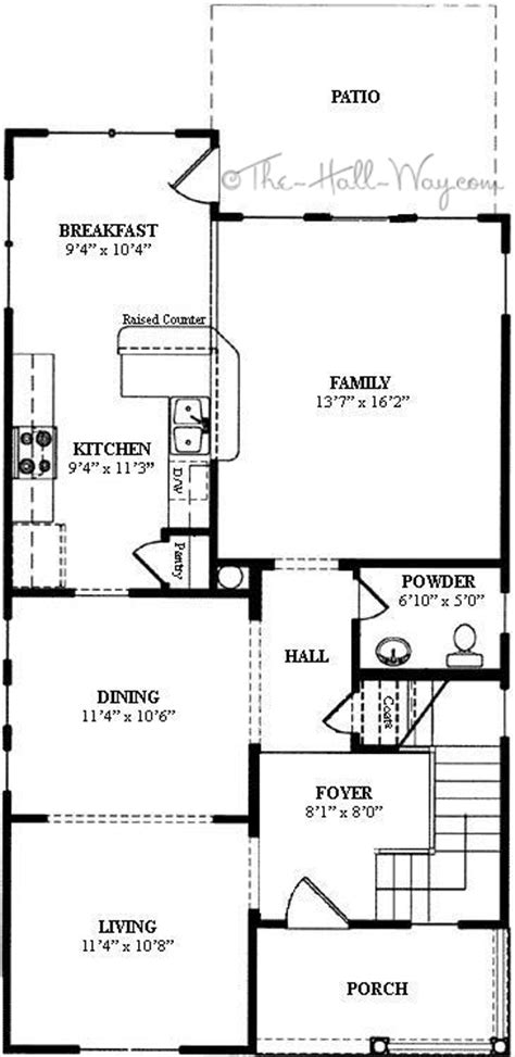 narrow lot 2 story house plans 3 story house plans narrow lot house with open floor plans