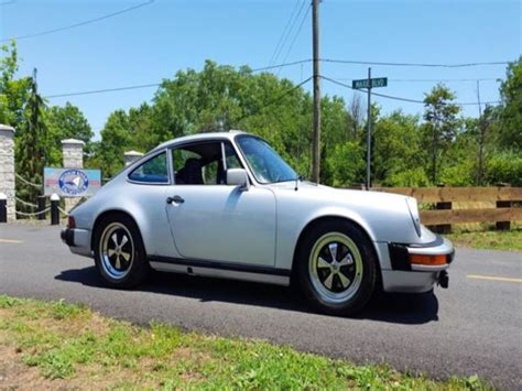 911 porsche for sale by owner 1980 porsche 911 classic car by owner in breesport ny 14816