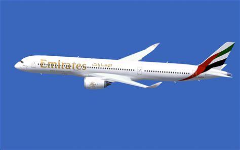 Emirates A350 | emirates airbus a350 1000 xwb v2 for fsx
