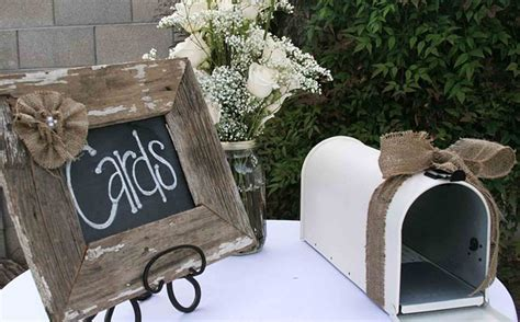 The Best Wedding Table Gift Card Holders   GCG