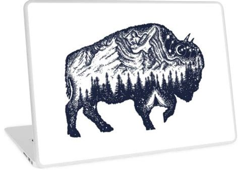 tribal buffalo tattoos 17 ideas about bison on buffalo