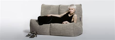 couch person double bean bag 2 person bean bags twin couch by
