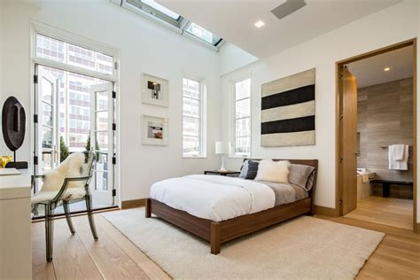 Apartment Bedroom Doors Bedroom Patio Doors Rug Penthouse Apartment In Tribeca