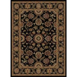 6x9 Area Rugs Home Depot Tayse Rugs Sensation Black 5 Ft 3 In X 7 Ft 3 In Traditional Area Rug 4843 Black 5x8 The