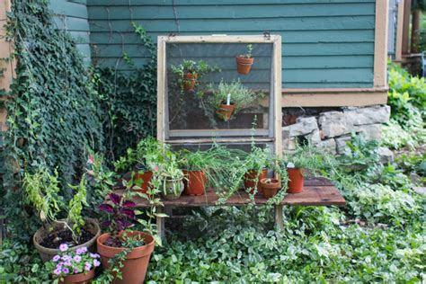 hanging window herb garden upcycle window screens for a hanging herb garden make
