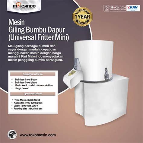 Jual Freezer Mini Di Bandung jual mesin giling bumbu dapur universal fritter mini di