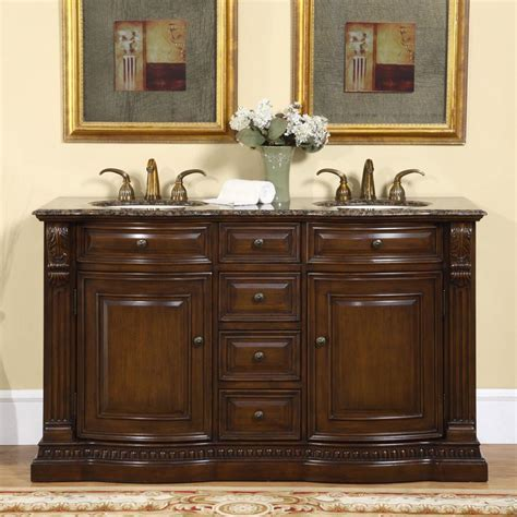 Vanity Granite by G3078 60 Sink Vanity Baltic Brown Granite Top Cabinet