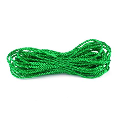 crown bolt 1 4 in x 50 ft twisted polypropylene rope in