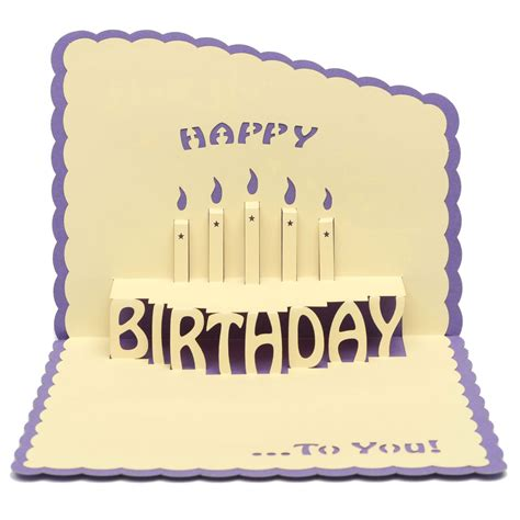 Card 3d other home living happy birthday 3d greeting card pop up birthday greeting card with