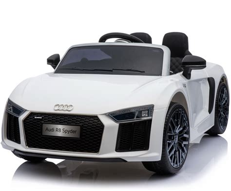 Ride On Audi R8 by New Shape Licensed Audi R8 Spyder 12v Children S Electric