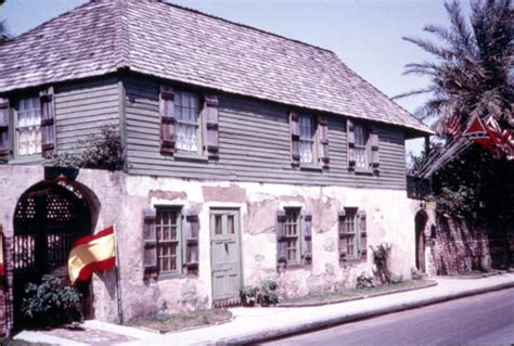 the house st augustine florida memory oldest house in st augustine which