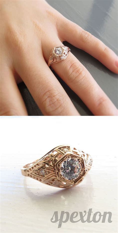 Faboo Engagement Rings by 1000 Images About Vintage Inspired Wedding Rings On