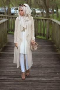 Chic street style hijab ideas for the fall winter season trends for