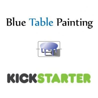 Blue Table Painting by Blue Table Painting Take Their Painting Skills To Kickstarter