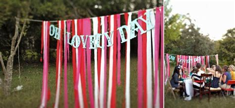 Five Ribbon Backdrop Ideas for your DIY Wedding