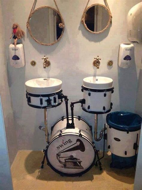 drum kit bathroom fixtures the worley gig