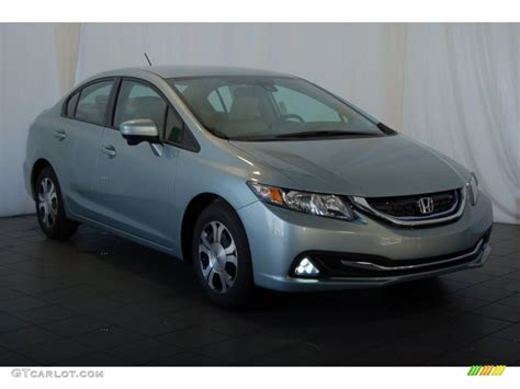green opal car 2015 green opal metallic honda civic hybrid sedan