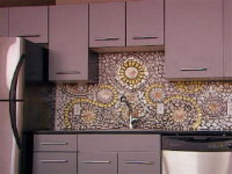 how to do backsplash tile in kitchen how to create a china mosaic backsplash hgtv
