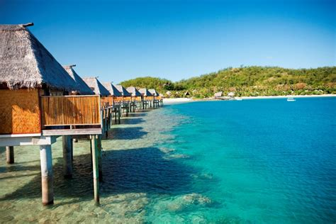 hawaii overwater bungalow rentals fiji resorts with gyms