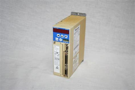 Panasonic Servo Drive Msd 013a1xx panasonic minas msd023a1xx06 ac servo drive 92v 1 7a