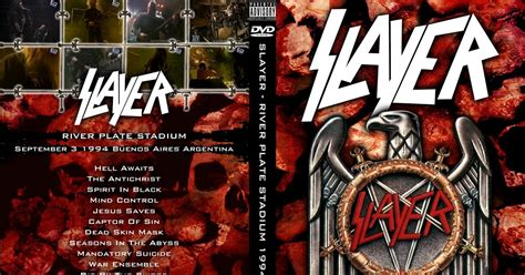 Dvd Gun Live At River Plate Stadium Argentina dvdconcertth power by quot deer 5001 quot slayer 09 03 1994 live in river plate stadium argentina