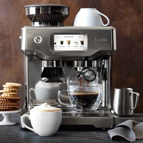 breville barista touch espresso maker breville barista touch espresso maker williams sonoma