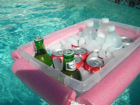 diy floating cooler what can you make with a pool noodle part 2 the crafty stalker